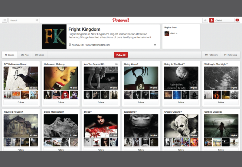 Fright-Kingdom-Pinterest-Internet-Marketing-Social-Media-San-Diego-MySMN