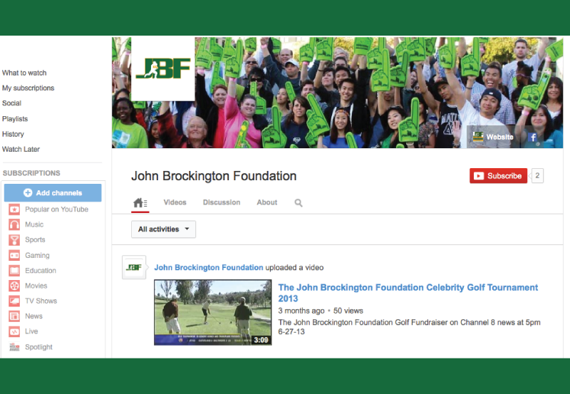 John-Brockington-Foundation-YouTube-Internet-Marketing-Social-Media-San-Diego-MySMN